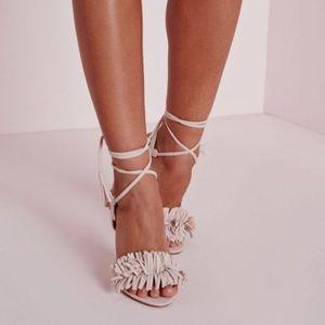 Misguided fringe heel